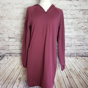 Duluth Trading Hooded Dress/Tunic